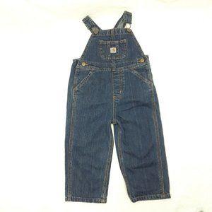 Carhartt Denim Bib Overall Master Cloth Sanforized